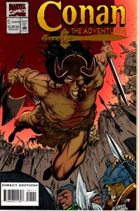 Lot Of 2 Conan Adventurer  Marvel Comic Book #1 2 J199