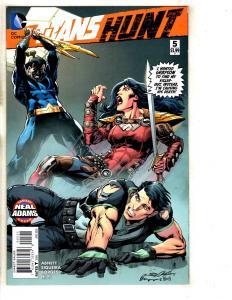 Titans Hunt # 5 NM 1st Print Neal Adams Variant Cover DC Comic Book TW64