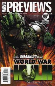Marvel Previews #44 VF/NM; Marvel   save on shipping - details inside