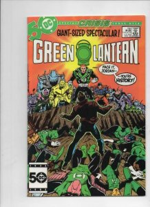 GREEN LANTERN #198, VF+, Crisis, Giant Size, 1960 1985 more in store