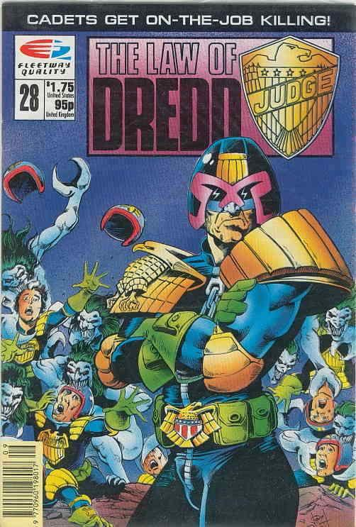 Law of Dredd, The #28 VF/NM; Fleetway Quality | save on shipping - details insid