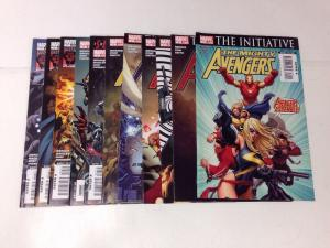 Mighty Avengers The Initiative 1-11 VF/NM Lot Set Run