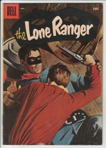 Lone Ranger, The #94 (Apr-56) NM- High-Grade The Lone Ranger, Tonto, Silver