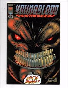 Image Comics Flip-Book Brigade (Vol. 1) #4 & Youngblood (Vol 1) #5 Rob Liefeld