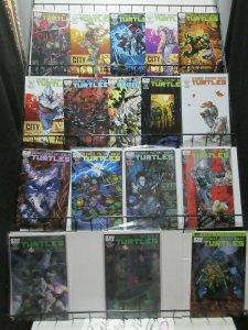 Teenage Mutant Ninja Turtles IDW Lot of 17Issues from #25-45 w Variants