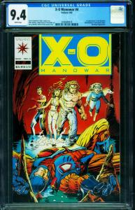 X-O MANOWAR #4 CGC 9.4-First appearance SHADOWMAN- 2006680018