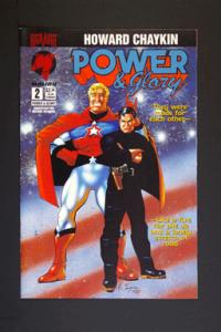 Power and Glory #2 March 1994 by Howard Chaykin Malibu Comic