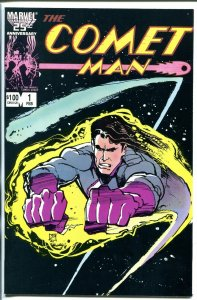 COMET MAN #1 1987-DOUBLE SIGNED-2 OF 10-BILLY MUMY-MIGUEL FERRER-vf/nm
