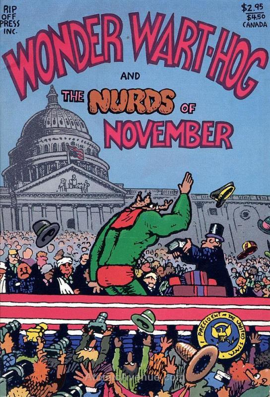 Wonder Wart-Hog and the Nurds of November #1 VF; Rip Off | save on shipping - de