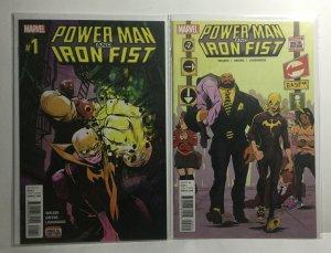 Power Man And Iron Fist 1 2 Nm Near Mint Marvel Comics
