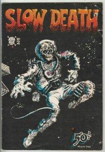 Slow Death 2 Strict GD Affordable-Grade Key 1st printing Artist Jaxon, Sheridan