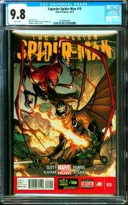 Surperior Spider-Man #15 CGC Graded 9.8