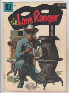 Lone Ranger, The #95 (May-56) VG+ Affordable-Grade The Lone Ranger, Tonto, Si...