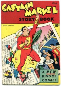 Captain Marvel Story Book #2 1947- CC BECK -EGYPTIAN COLLECTION VF-