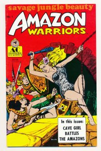 Amazon Warriors (1989) #1 FN+
