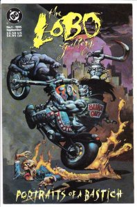 LOBO GALLERY : PORTRAITS OF A BASTICH #1, VF/NM, Simon Bisley, more DC in store