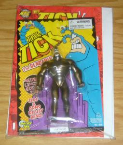the Tick's Back #0 VF/NM gold variant with action figure (limited #1867 of 2500)
