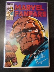 ​Marvel Fanfare#15 Incredible Condition (1984) Barry Windsor-Smith Art!!