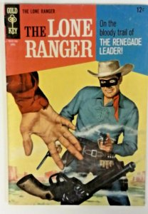 The Lone Ranger 6  FN  Gold Key 1967  Silver Age  Western Cowboy Comics