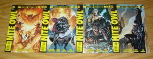 Before Watchmen: Nite Owl #1-4 VF/NM complete series - straczynski - joe kubert