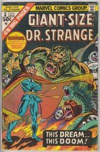 Giant-Size Doctor Strange #1 (Nov-75) VG/FN+ Mid-Grade Dr.Strange