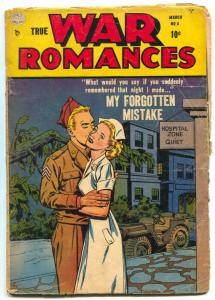 True War Romances #6 1953- Nurse cover reading copy