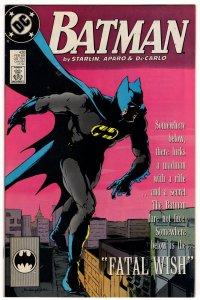 Batman #430 Jim Starlin Copper Age DC
