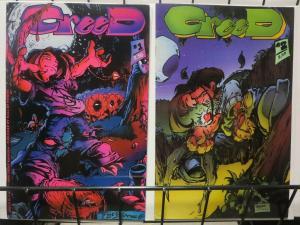 CREED (1994 HALL OF HEROES) 1-2  T. Kaniuga  1st Series