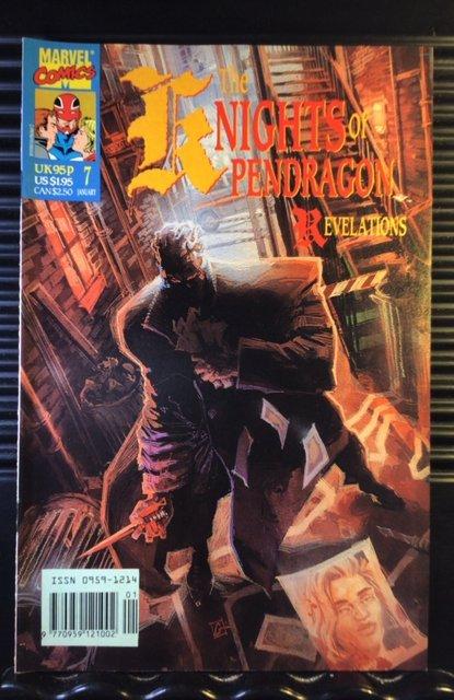 Knights of Pendragon (UK) #7 (1991)