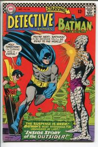 DETECTIVE  #356 1966-DC-OUTSIDER-BATMAN-vf minus