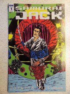 SAMURAI JACK # 1 RI-A VARIANT COVER