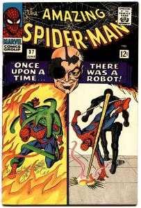 AMAZING SPIDER-MAN #37-MARVEL COMICS SILVER-AGE VF-FIRST NORMAN OSBORN