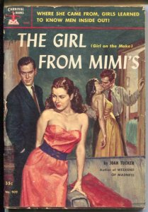 Carnival Books #909 1952-Hanro-Girl From Mimi's-Joan Taylor-GGA-G/VG