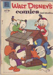 Comics and Stories, Walt Disney's #236 (May-60) VG Affordable-Grade Donald Du...