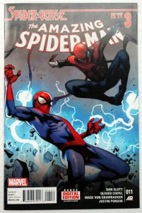 Amazing Spider-Man #11 (NM, 2015) 1ST APP SOLUS