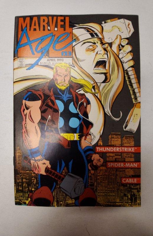 Marvel Age #123 (1993) NM Marvel Comic Book J665