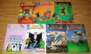 Tales of the Jackalope #1-7 VF/NM complete series R.L. CRABB blackthorne comics
