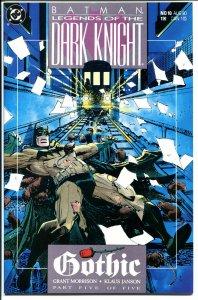 BATMAN : LEGENDS OF THE DARK KNIGHT #10, Gothic, 1989 , NM+