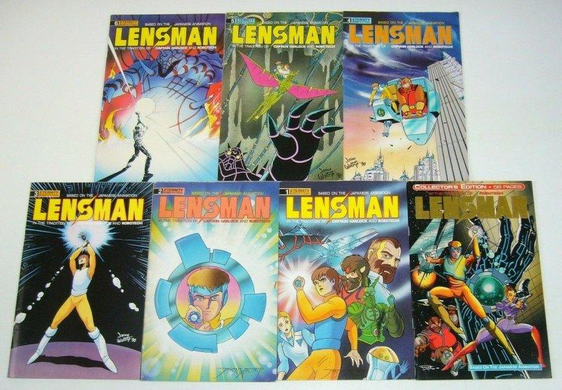 Lensman #1-6 VF/NM complete series + gold variant based on the anime manga set