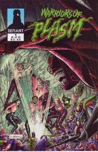 Warriors of Plasm #1, NM- (Stock photo)