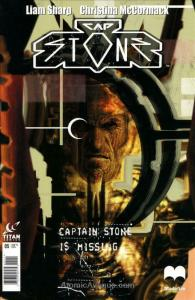 Captain Stone #5 VF/NM; Titan | save on shipping - details inside