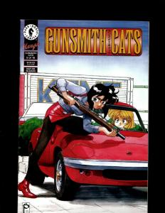 5 Gunsmith Cats Dark Horse Comic Books #1-5 JF21