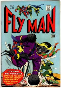 FLY MAN 32 VG-F July 1965