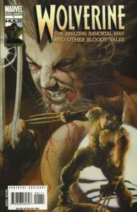 Wolverine: The Amazing Immortal Man And Other Bloody Tales #1 VF/NM; Marvel   sa