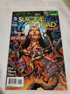 Suicide Squad 17 Near Mint+ Cover by Ken Lashley