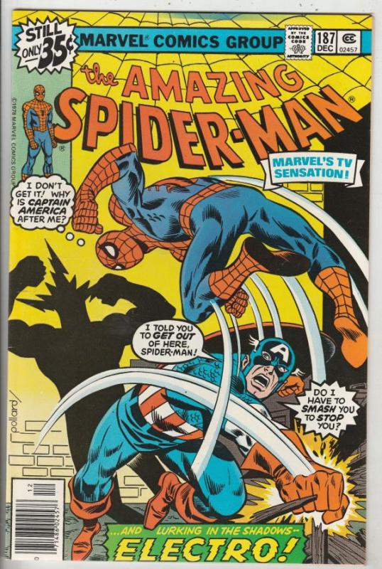 Amazing Spider-Man #187 (Dec-78) NM- High-Grade Spider-Man