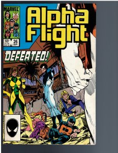 Alpha Flight #26 (1985)