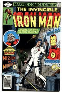IRON MAN #125 1979-comic book-Marvel-ANT MAN