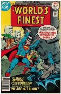 WORLDS FINEST 243 VF-NM Feb. 1977 COMICS BOOK