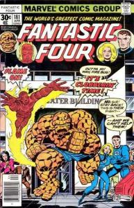 Fantastic Four (1961 series) #181, VG (Stock photo)